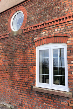 A-Rated White PVC windows