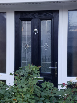 Front Enterance Door and sie panels installed Newton Le Willows