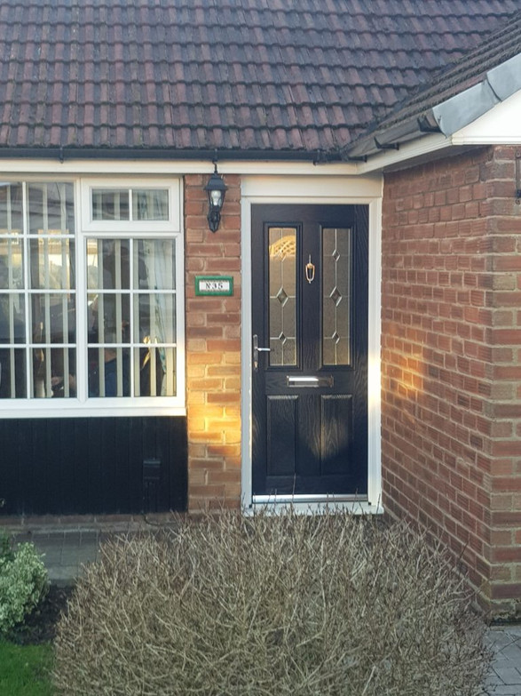 New Composite Front Door Installed St Helens