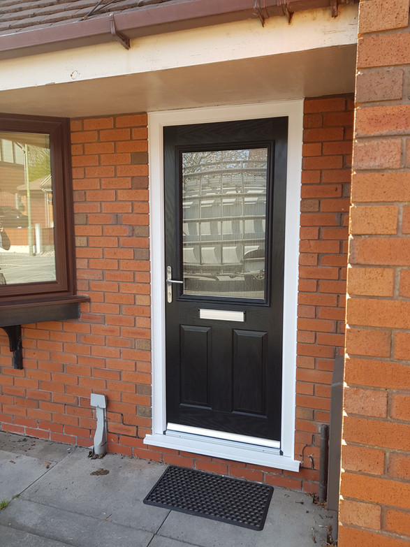 New Front Enterance Door in Wigan