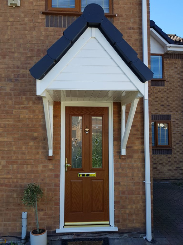 Oak Composite door Newton Le Willows