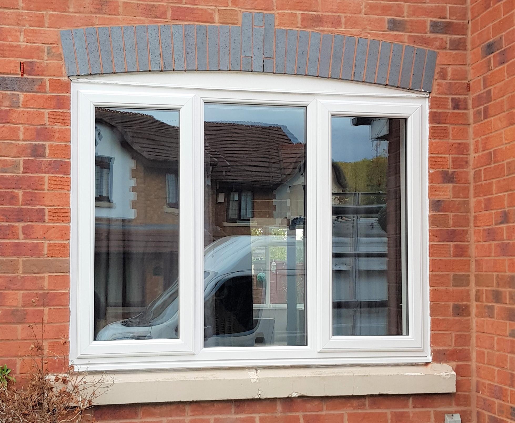 White Pvc window Warrington