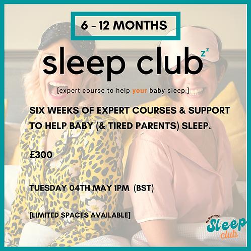 Sleep Club Tuesday 4th May 1pm (BST)