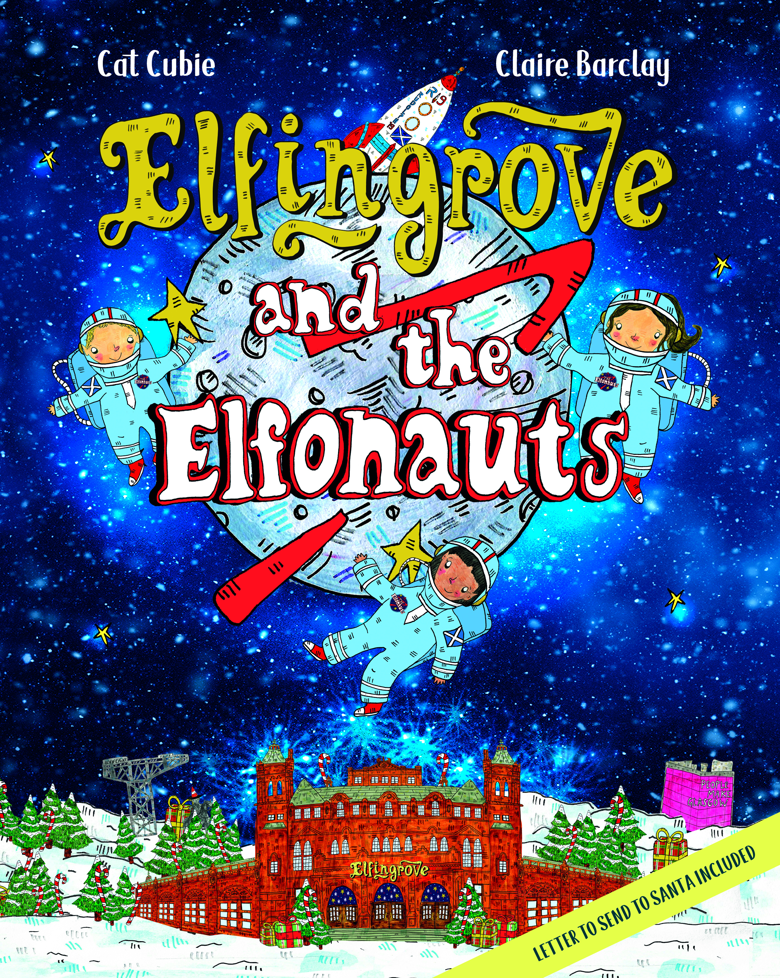 Elfingrove and The Elfonauts Cover