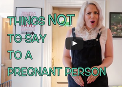 Ssh! Pregnant Person Alert!