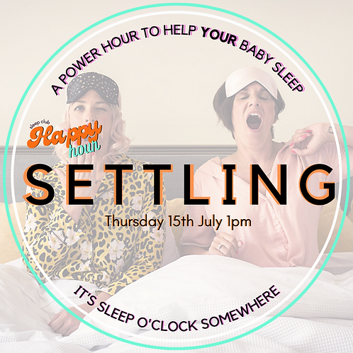 Happy Hour: Settling 15th July 1pm