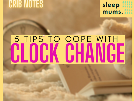 Tips to Cope with The Autumn Clock Change