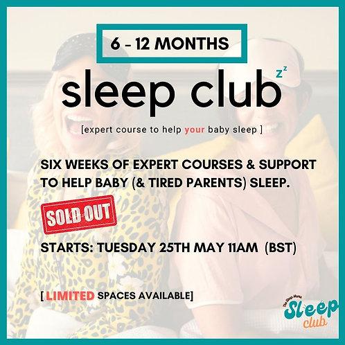 Sleep Club Tuesday 25th May 10am (BST)