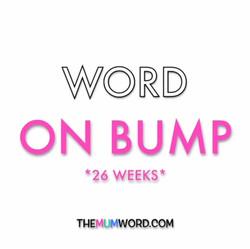 Bump Update *26 Weeks*