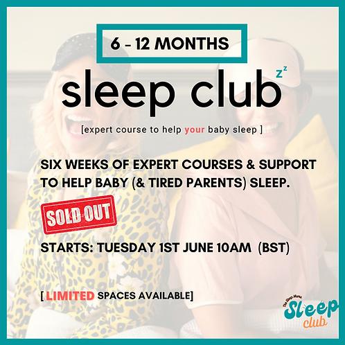 Sleep Club Tuesday 1st June 10am (BST)