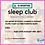 Thumbnail: Sleep Club Tues 24th Aug 1pm (BST)