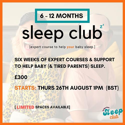 Sleep Club Thurs 26th Aug 1pm (BST)