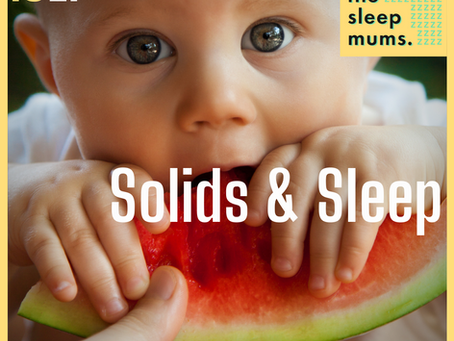 How to get Solid Sleep: Weaning Baby