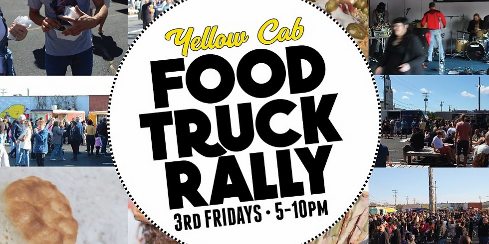 Yellow Cab Food Truck Rally - March 20