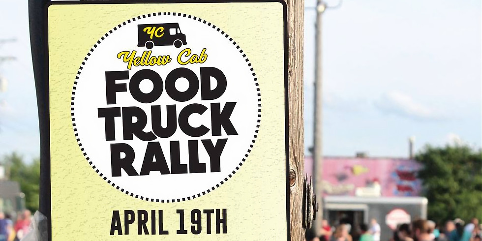 Yellow Cab Food Truck Rally - April 19th