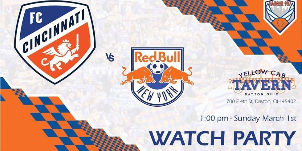 FC Cincinnati at NYRB - Watch Party