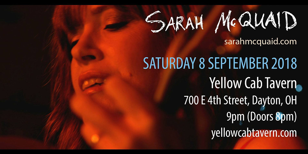 Sarah Mcquaid at Yellow Cab