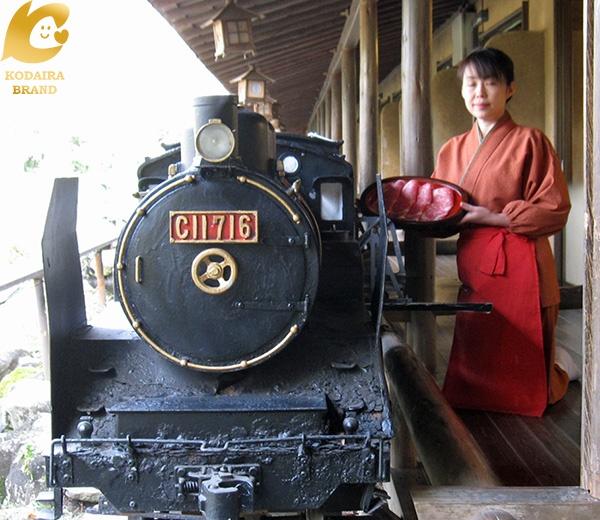 汽車で料理の運搬サービス