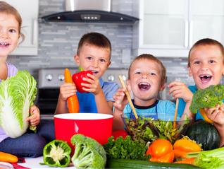 Os 7 legumes indispensáveis para a alimentação do seu filho.