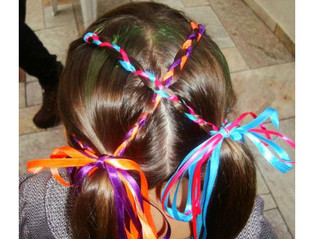 Ideias de penteados Juninos para meninas 🌺