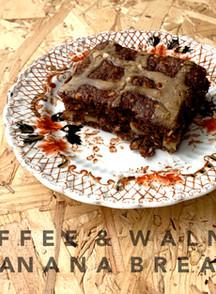 COFFEE & WALNUT BANANA TRAYBAKE