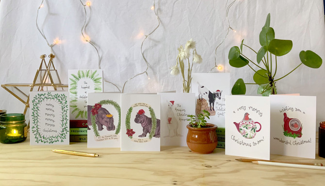 WHY YOU SHOULD BE SENDING CHRISTMAS CARDS THIS YEAR MORE THAN EVER! (+ loads of makers to buy from)