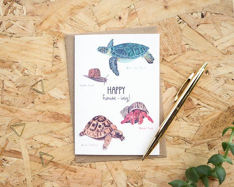 Happy House-ing // New Home Card