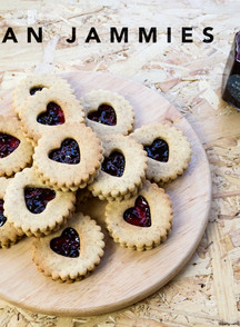 JAMMY DODGERS FOR YOUR LOVE!