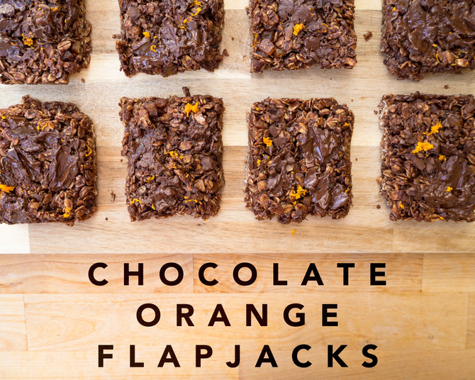 CHOCOLATE CITRUS LIFE IN FLAPJACK FORM