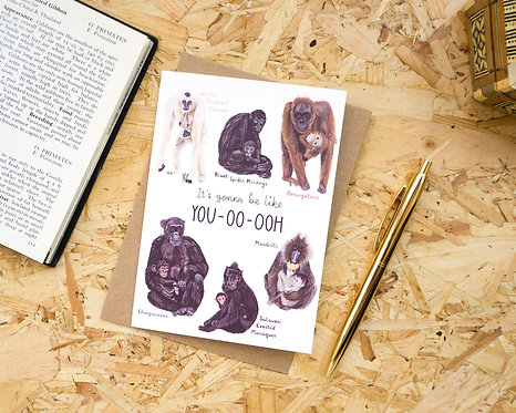 It's Gonna Be Like You // New Baby Card