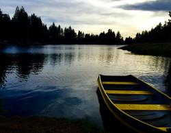 Boat at Green Valley Lake