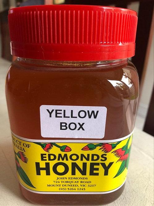 Edmonds 1kg Yellow Box Honey Screw Top Lid
