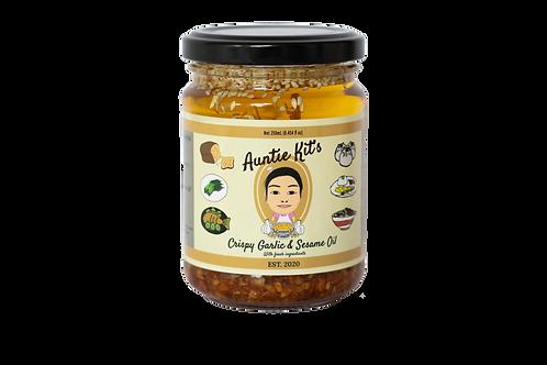 Crispy Garlic Sesame Oil