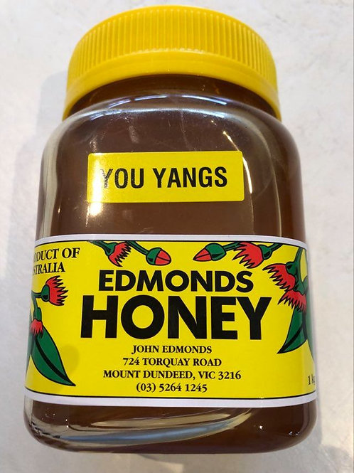 1 Litre screw top lid of All Natural You Yangs Honey