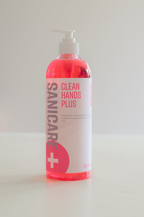 Sanicare Clean Hands Plus Antibacterial 750mls