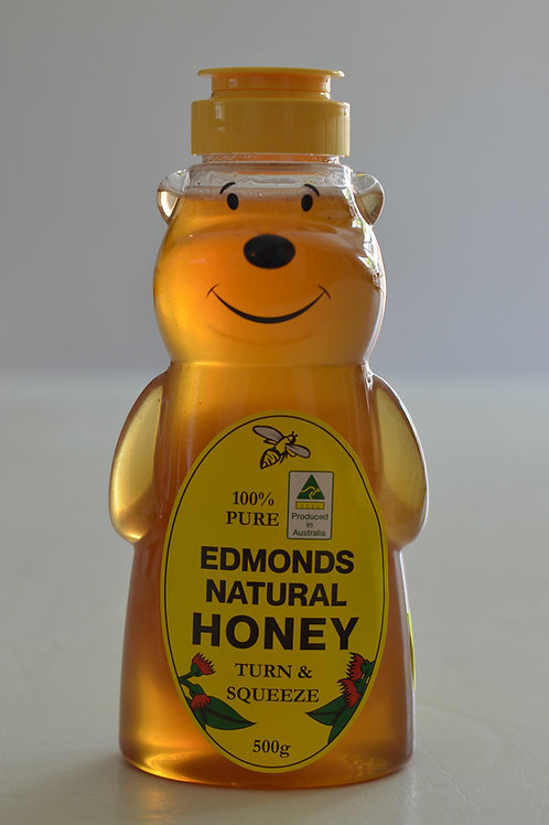 500 ml Bear All Natural Squeeze Bottle Honey