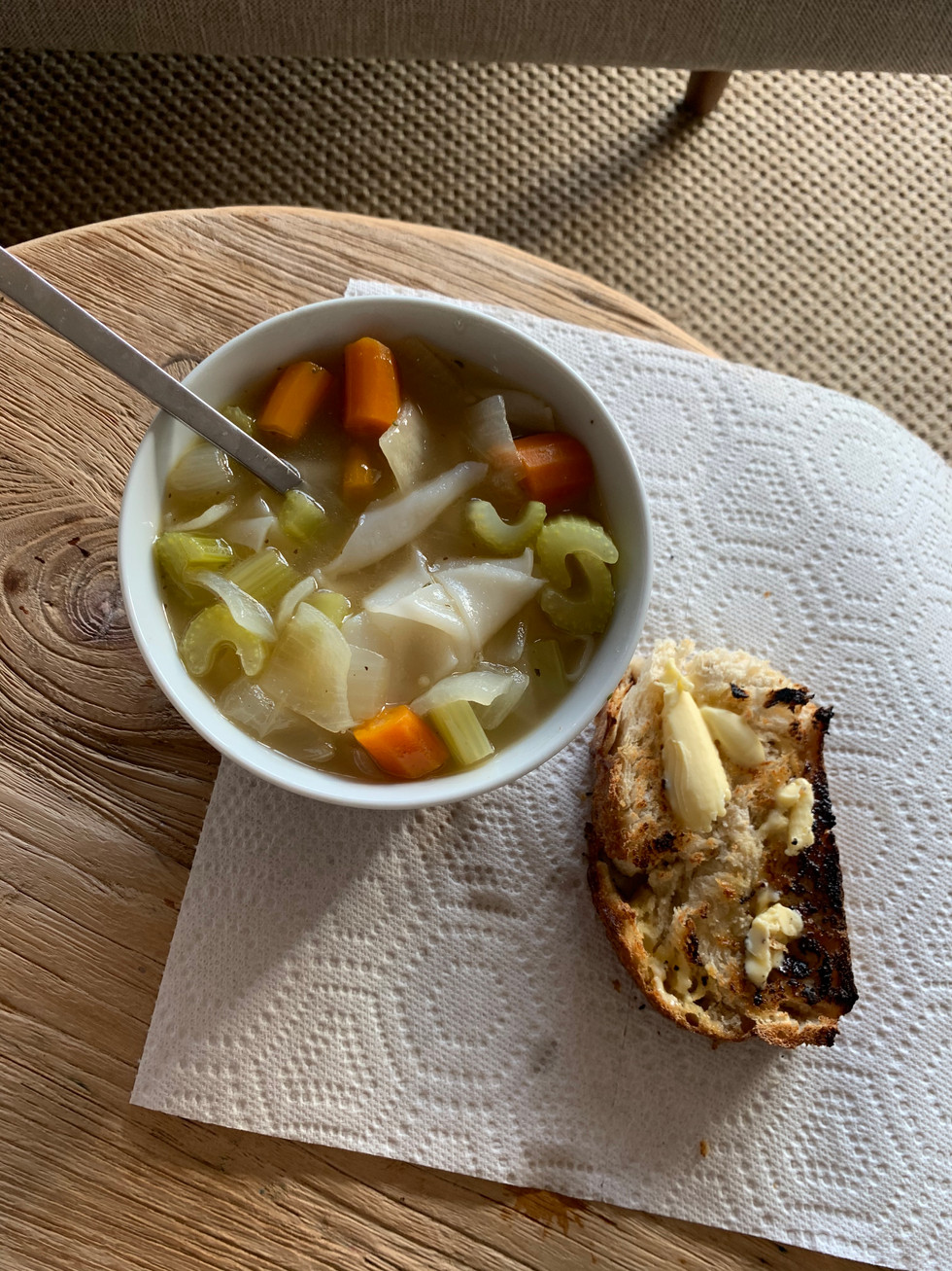 Pad See Ew Noodle Soup