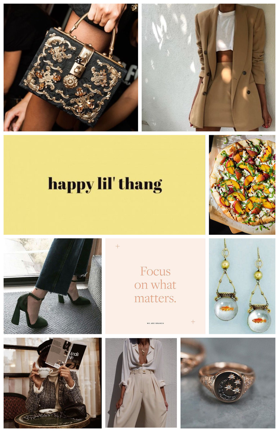 Inspo For This Coming Fall (Fashion, Food, Beauty, etc.)
