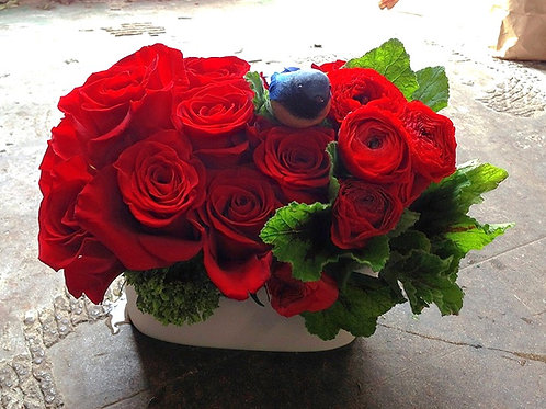 Red Rose Ranunculas