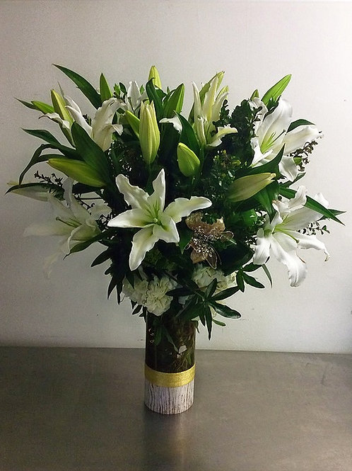 """Ingrid"" Fagrant Lily Bouquet"