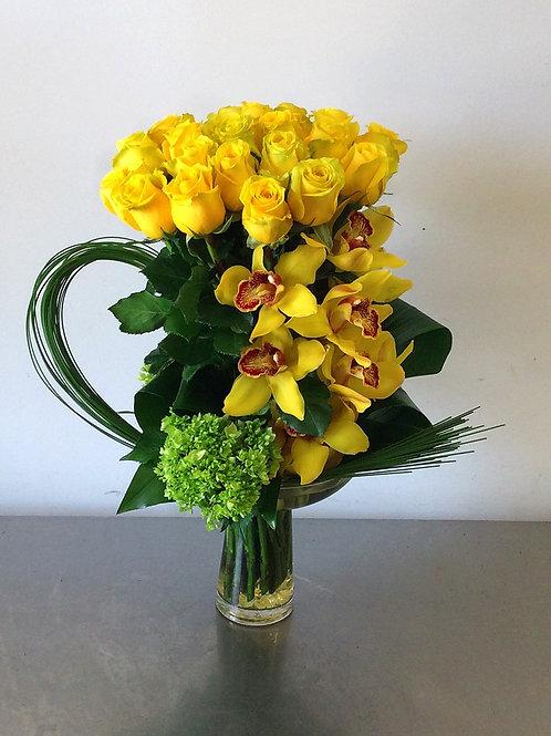 Two Dozen Graceful Roses