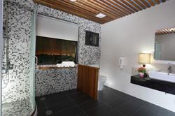 乾濕分離浴室及夜景