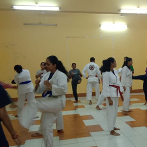 Self Defence Training during Special Camp