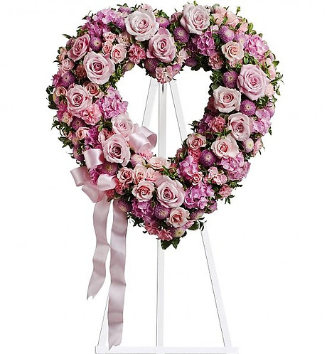 Heart Wreath - Intermediate