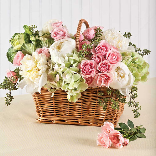 Flower Arrangements - Baskets: Intermediate