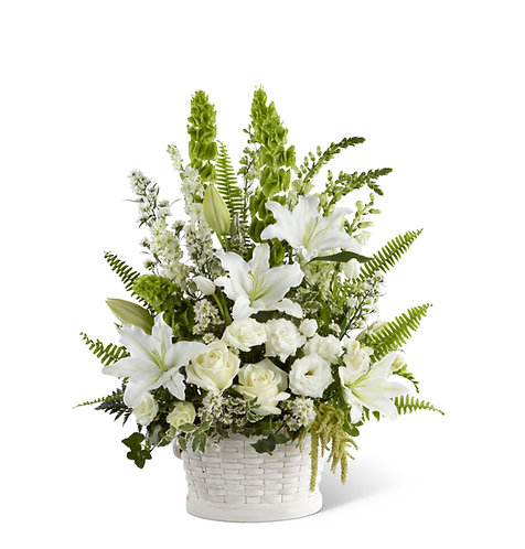Flower Arrangements - Baskets: Descrete