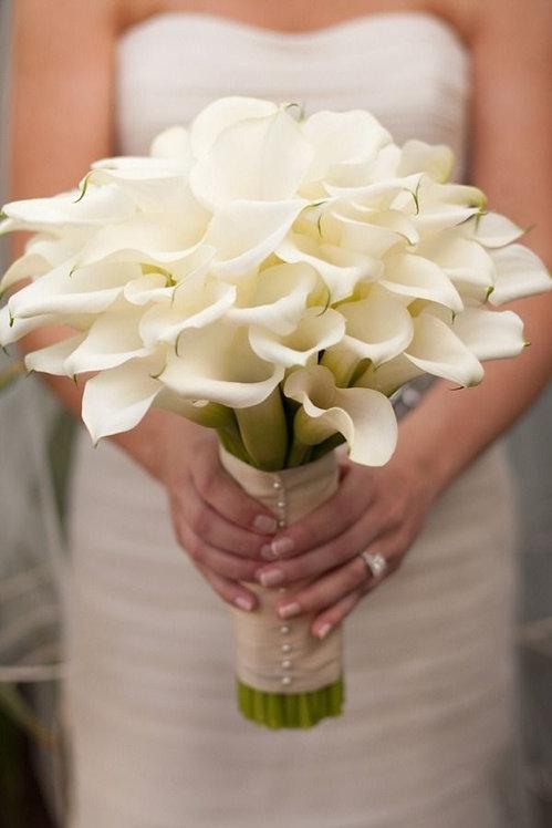 Bridal Bouquet - Lilies