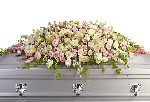 Casket Sprays: Elaborate - Delux