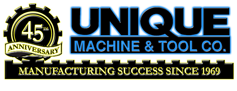 Unique Machine & Tool Company Parts Logo