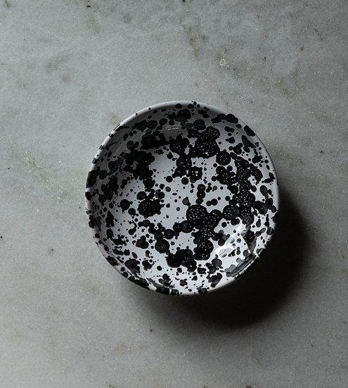 Frukostskål Spruzzi Black 16 Cm